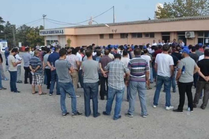 Gemlik'te grev, OHAL gölgesinde sürüyor