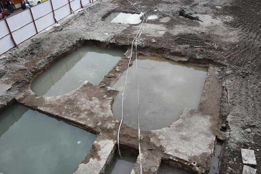 İnşaat alanında arkeolojik kazı yapılacak