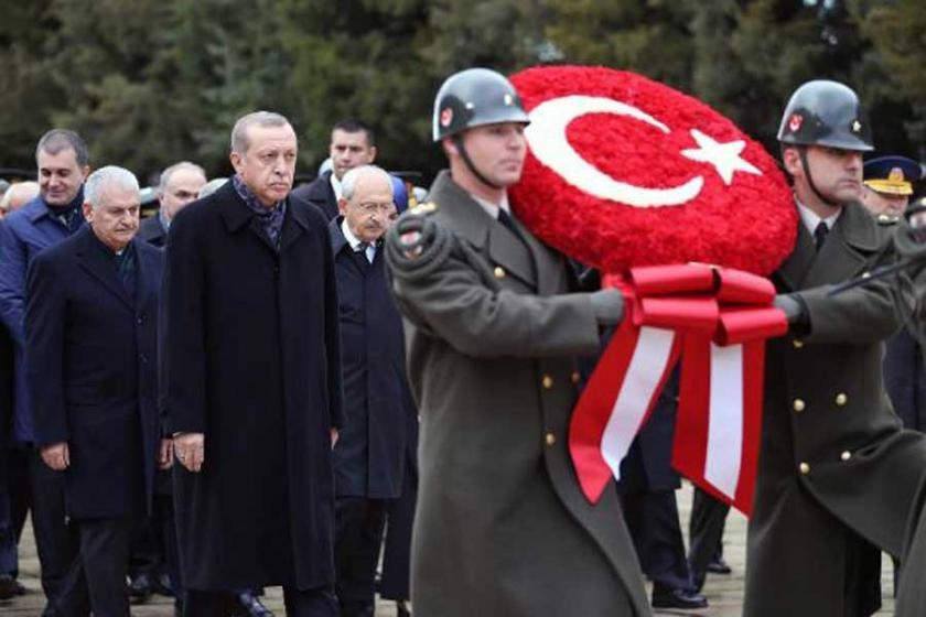 Atatürk ölümünün 78'inci yılında Anıtkabir'de anıldı