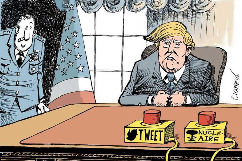 Karikatüristlerin gözünden Trump'ın 'zaferi'