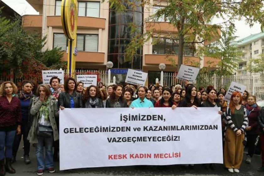 KESK'li kadınlar 25 Kasım etkinlik programını açıkladı