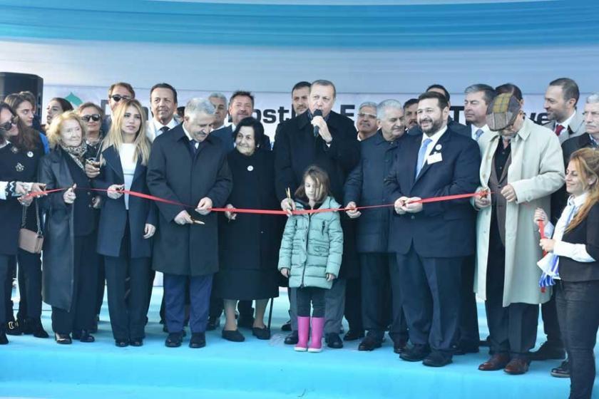 Erdoğan: 3. havalimanını 2018'de açıyoruz