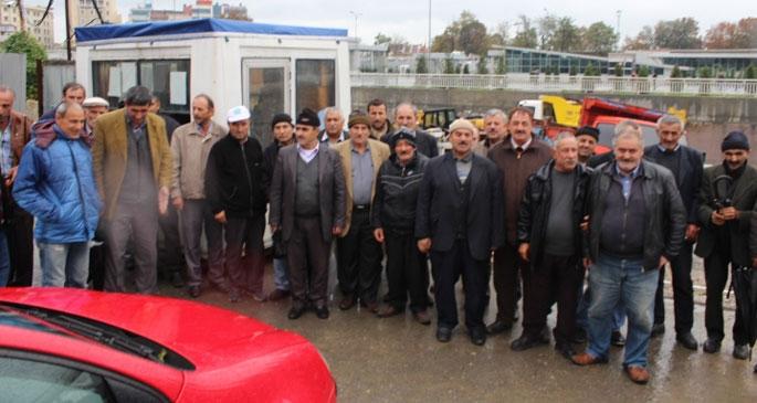 Yenikapı'da 50 taşeron işçi iş bıraktı