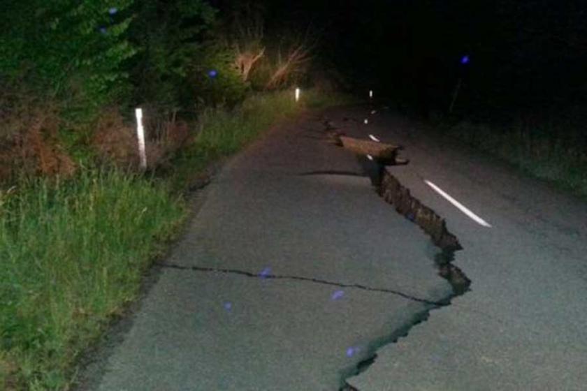 Yeni Zelanda'da 7.8 şiddetinde deprem