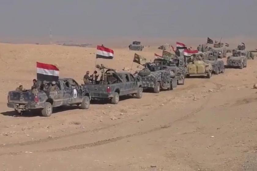 Musul'da IŞİD'e karşı ilerleyiş sürüyor