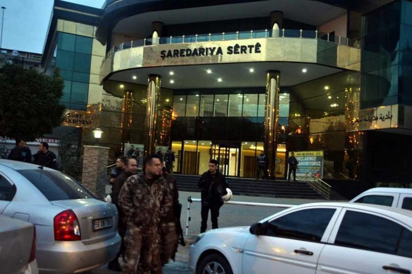 Siirt Belediye Eş Başkanı Bakırhan'a tutuklama istemi