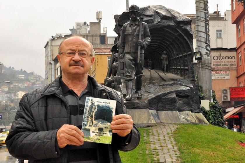 Emekli madenci şiir kitabı çıkardı