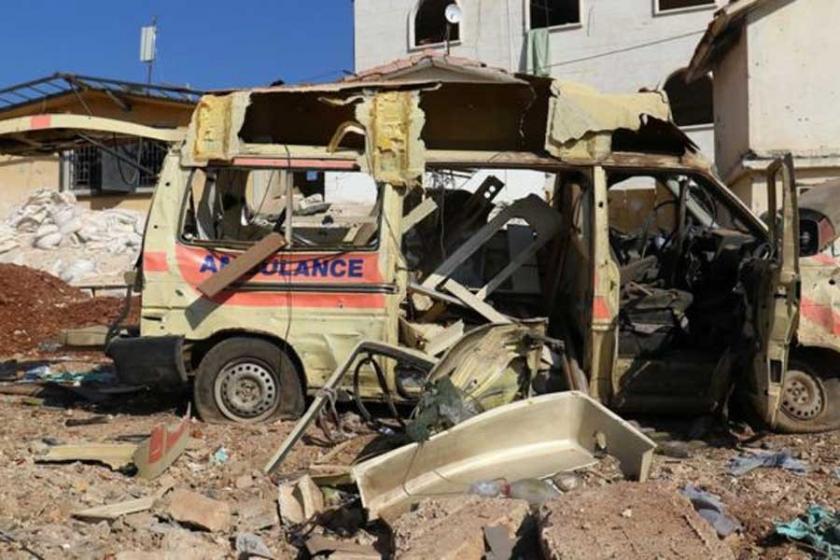 'Halep'te çocuk hastanesi vuruldu' iddiası