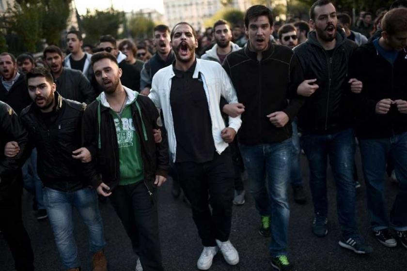 Politeknik anmasında Erdoğan karşıtı sloganlar