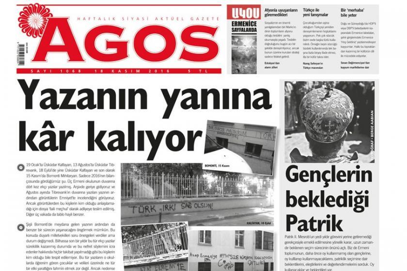 'Bir gece ansızın Agos'a gelebiliriz' tehdidine beraat