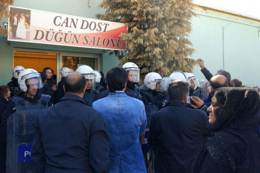AKD Yamanlar Cemevi salonunun yıkılmasına tepki gösterdi