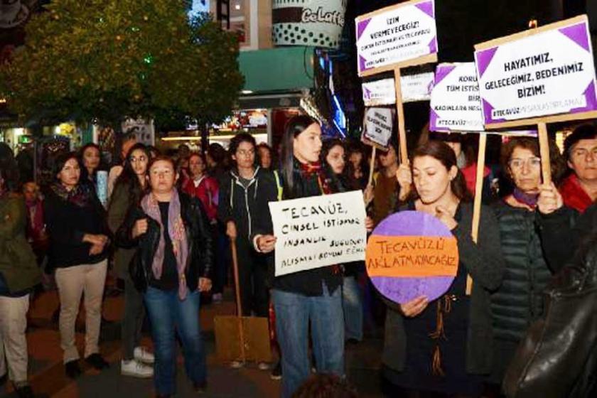Antalya'da kadınların eylemine OHAL engeli
