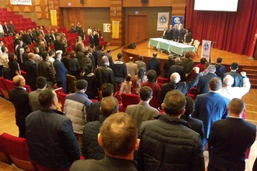 DERİTEKS Kongresi'nde OHAL'e tepki gösterildi