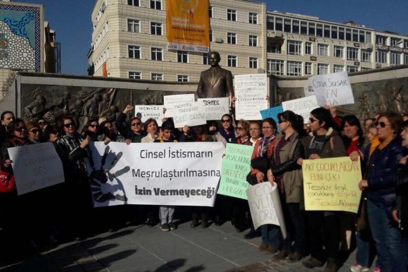Çocuk istismarında cezasızlığa Kayserili kadınlardan tepki