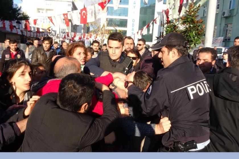 Hopa'da cinsel istismar düzenlemesi eylemine polis saldırdı