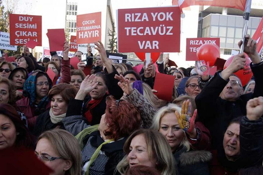 'Tecavüz suçtur AK'lanamaz'