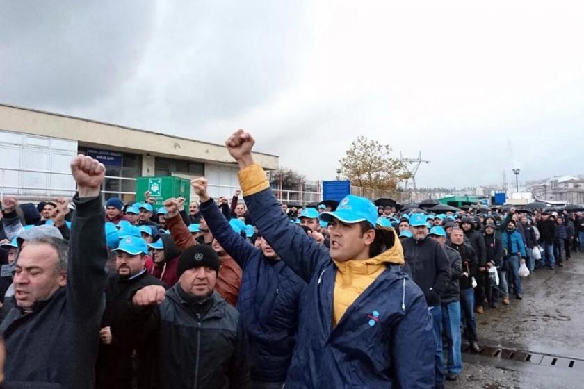 ERDEMİR'de grev kararı alındı