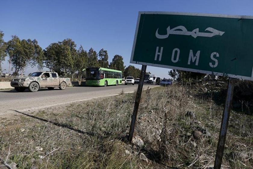 Suriye ordusu, Şam-Humus yolunda operasyona başladı