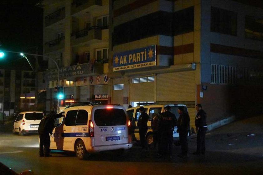 AKP ilçe binasına silahlı saldırı