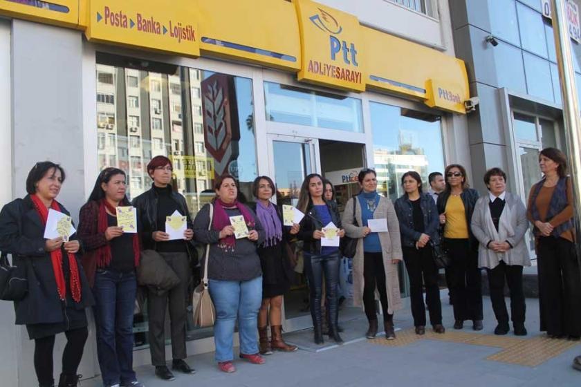 Tutuklu KESK'li kadınlara dayanışma kartı gönderildi