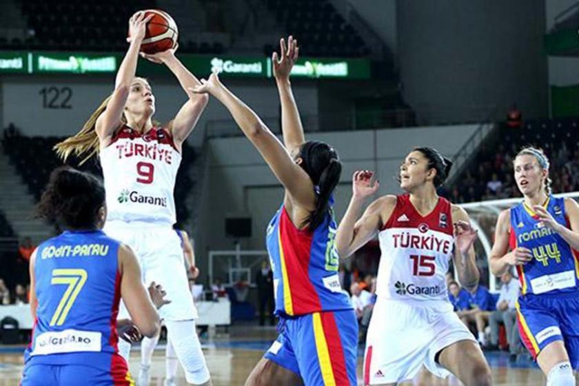 A Milli Kadın Basketbol Takımı Romanya'yı yendi