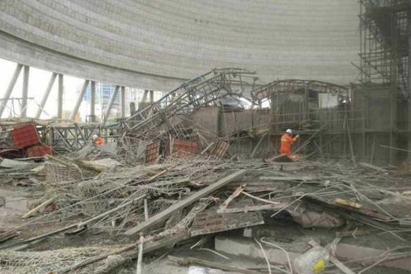 Çin'deki göçükte hayatını kaybedenlerin sayısı 74'e çıktı