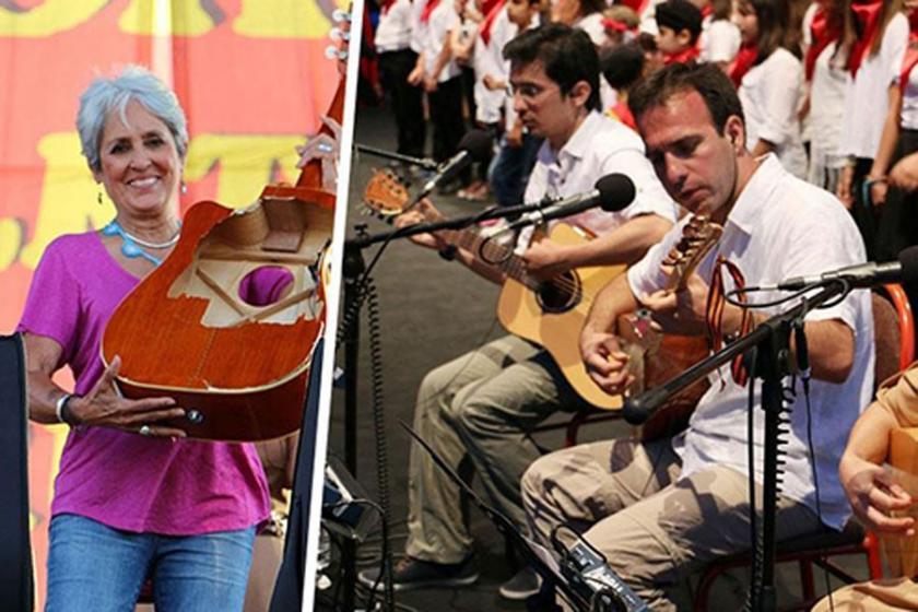 Joan Baez'den Grup Yorum'a destek mesajı