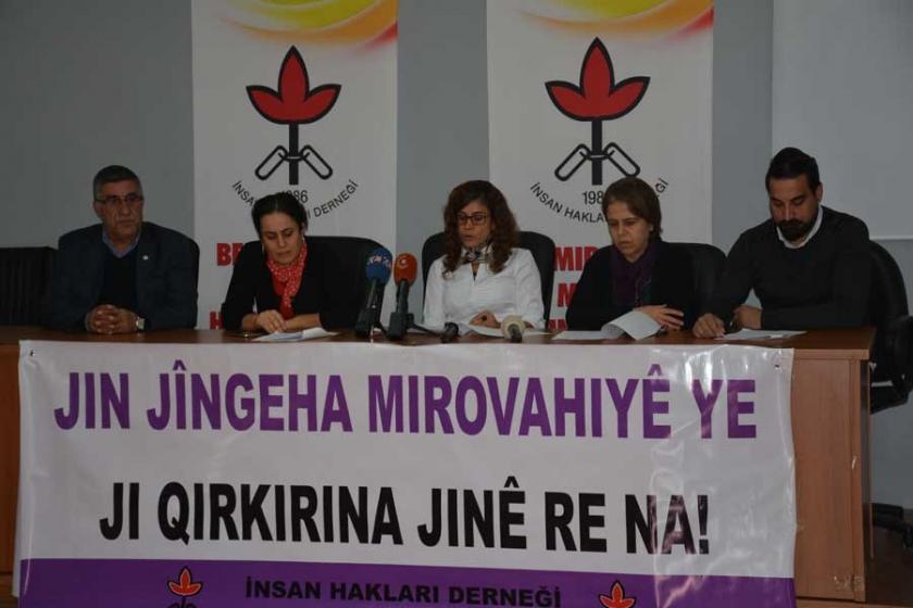 İHD'den Bölge'de kadına yönelik hak ihlalleri raporu