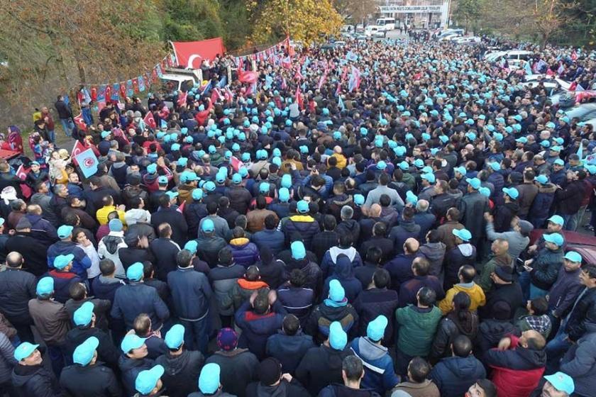 ERDEMİR işçisi: 3 lira zammın altına inilmemeli
