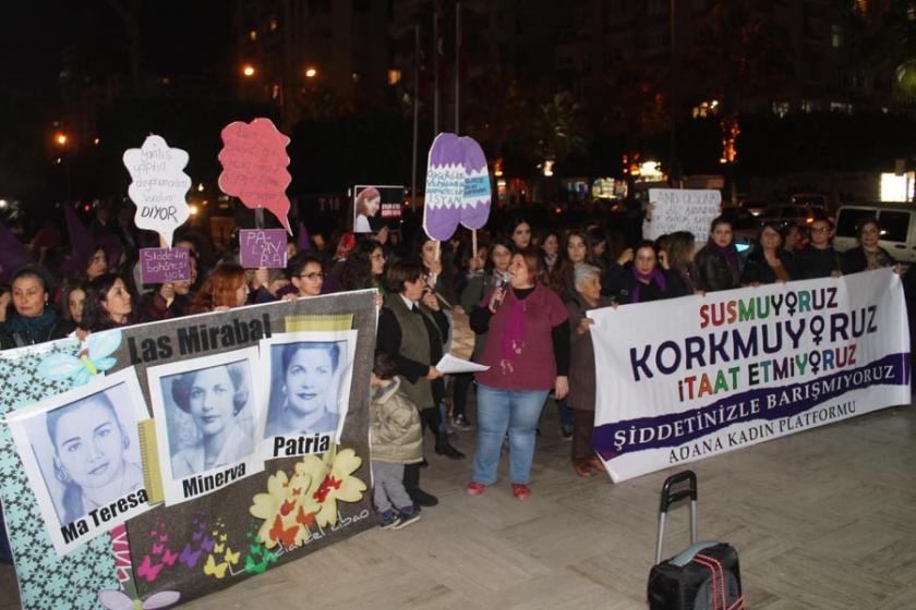 Kadınlar: OHAL'de şiddetinizle barışmayacağız