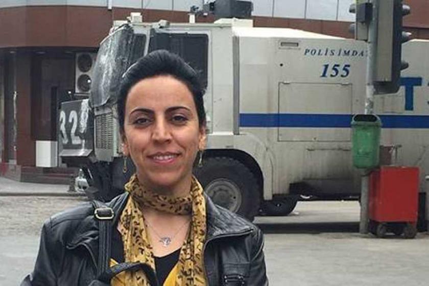Gazeteci Hatice Kamer Şirvan'da gözaltına alındı