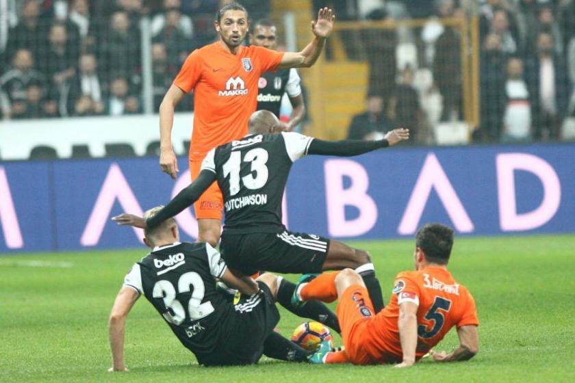 Beşiktaş'la Başakşehir 1-1 berabere kaldı