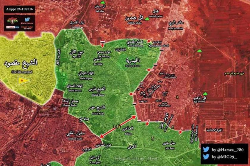 Suriye ordusundan Halep'te önemli ilerleme