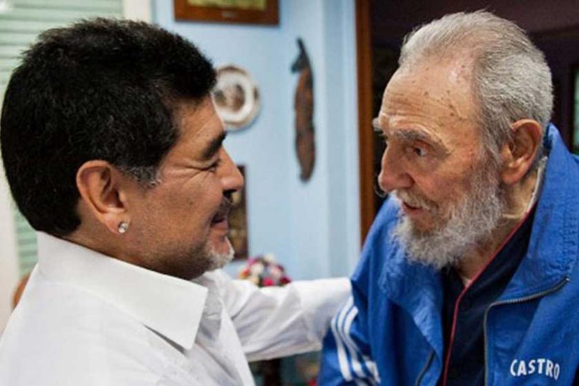 Fidel Castro: Maradona'nın hayatını kurtaran adam