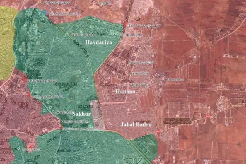 Suriye ordusu Halep'te Cebel Bedru'yu kontrolüne aldı