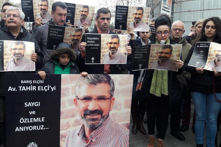 Tahir Elçi katledilişinin birinci yılında İstanbul'da anıldı