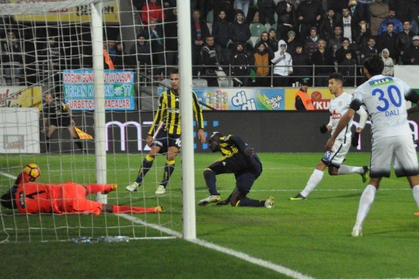 Fenerbahçe Çaykur Rizespor'u deplasmanda 5-1 yendi