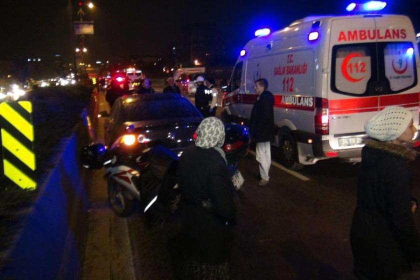 Bayrampaşa'da otomobilin çarptığı anne ile kızı öldü