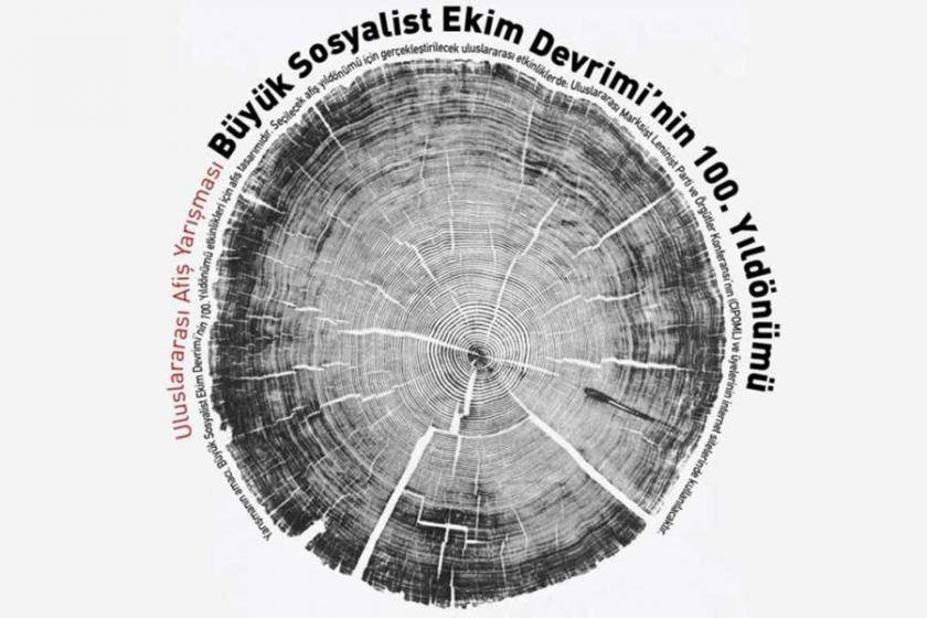 Ekim Devrimi'nin 100. yıl dönümü için afiş yarışması
