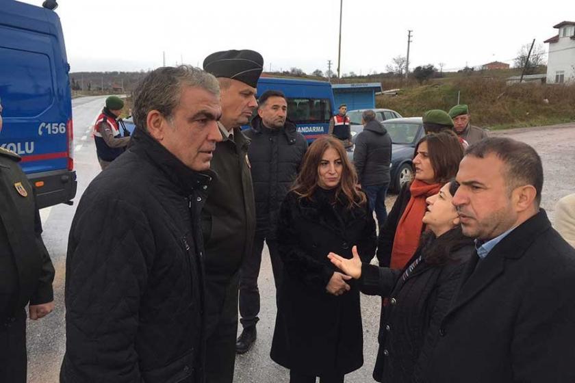 HDP'nin Yüksekdağ ve Baluken'le görüşmesi engellendi