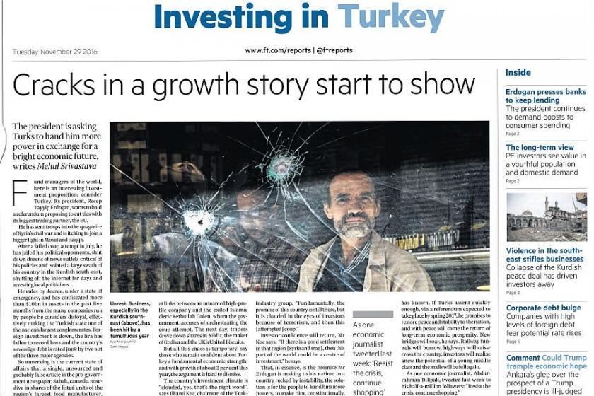 Financal Times Türkiye ekonomisini yazdı
