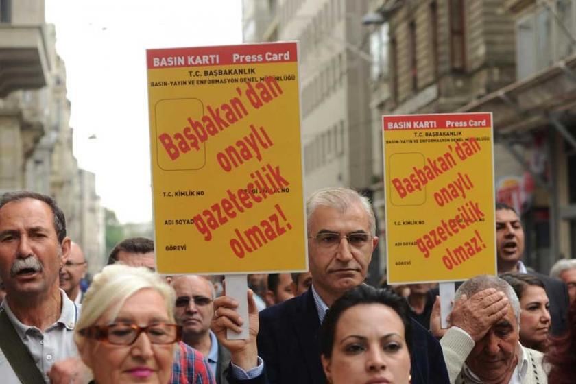 'Sarı basın kartı gazetecilik ruhsatı değildir'