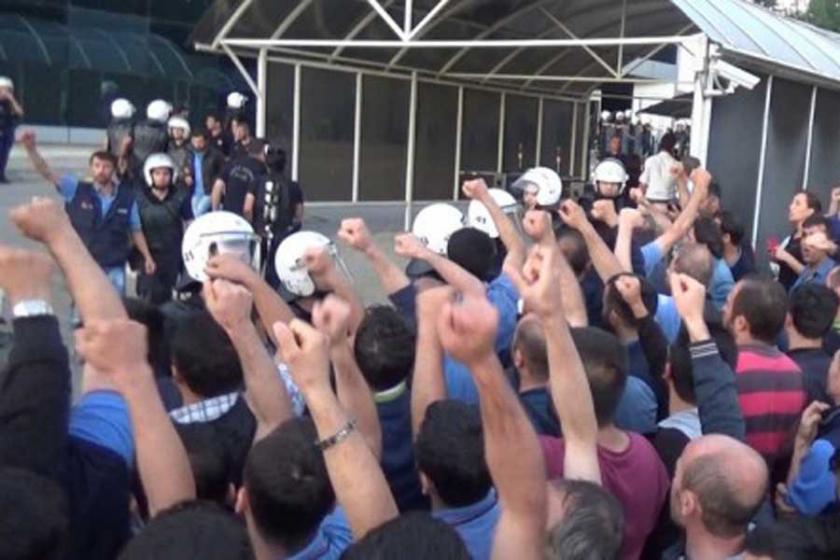 'Grev yasaklarına ve OHAL'e  karşı mücadele etmeliyiz'