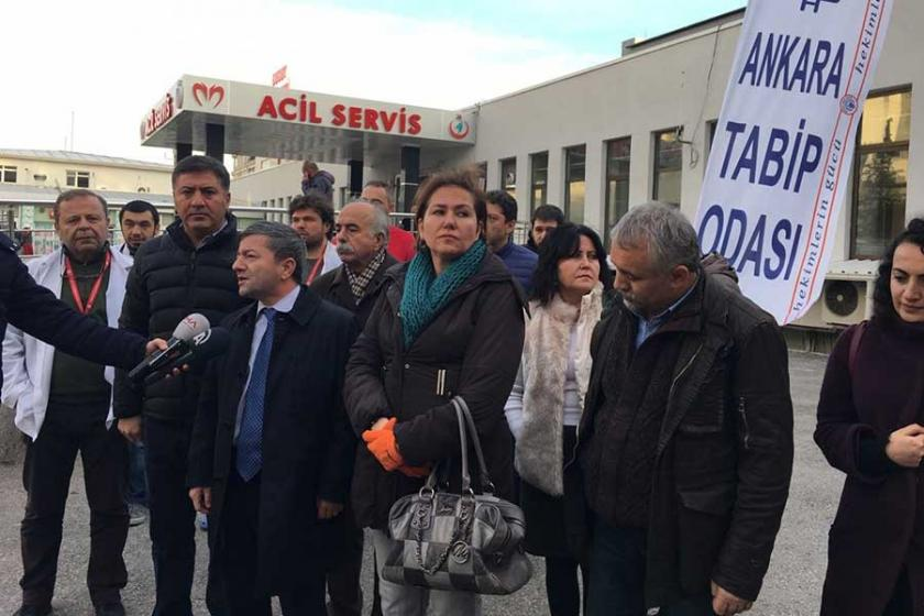 Ankara Dışkapı Hastanesi'nde hekime şiddet