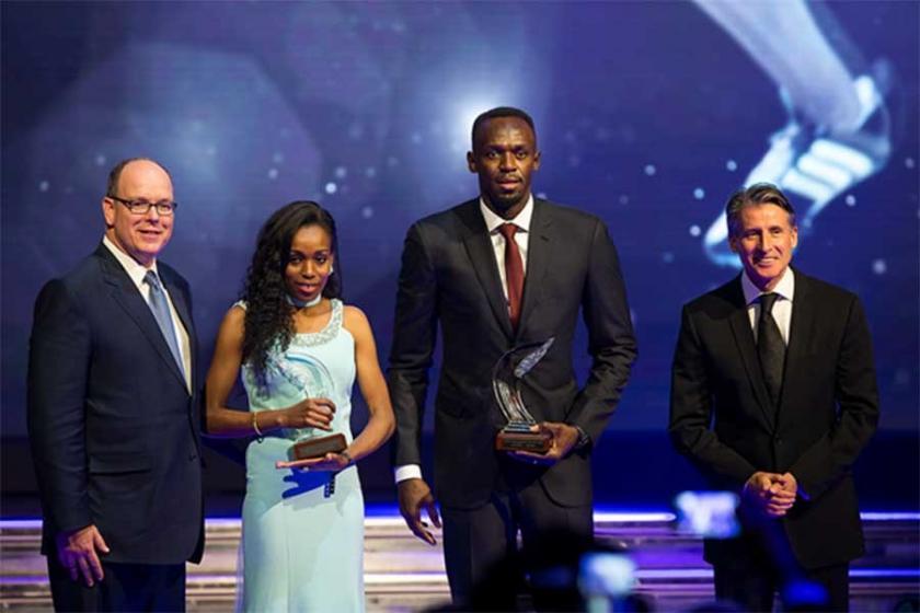 Yılın atleti ödülü Usain Bolt ve Almaz Ayana'nın oldu
