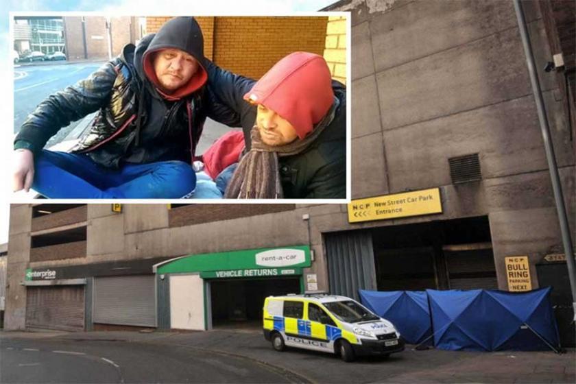 İngiltere'de bir evsiz donarak öldü