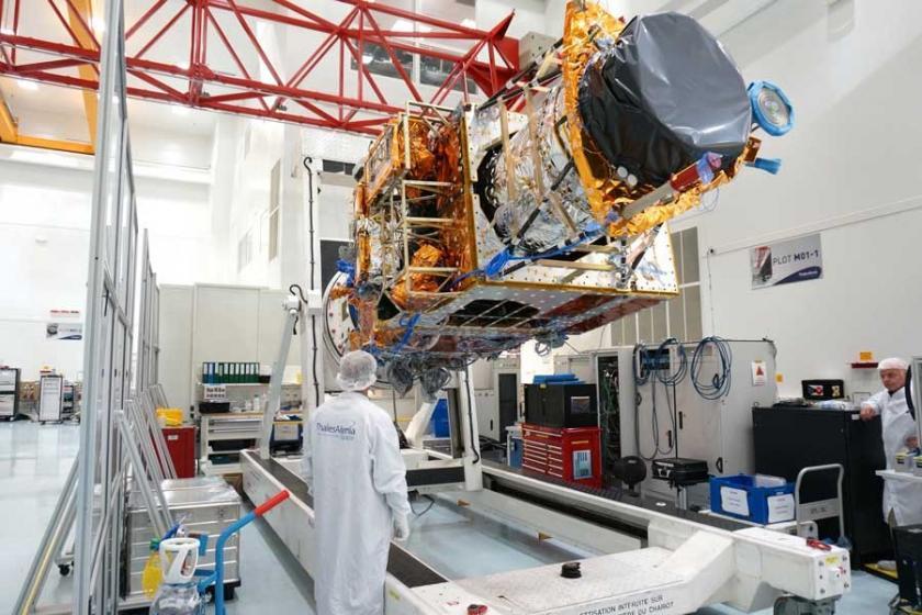 TSK'ye görüntü sağlayacak olan Göktürk-1 uzaya fırlatıldı