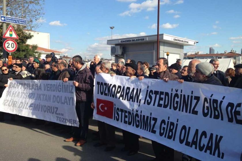 Tozkoparan halkı: Haklarımızı gasbedecek dönüşüme karşıyız