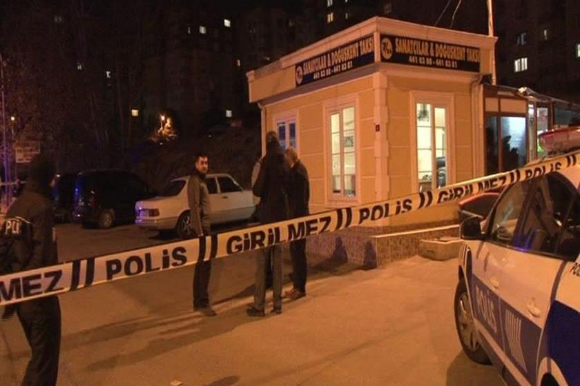 Maltepe'de taksici cinayeti