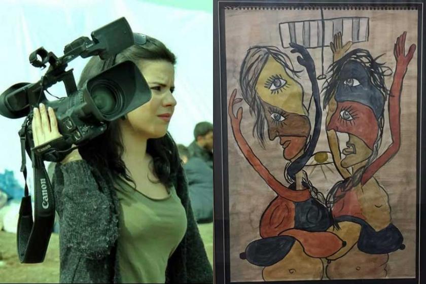 Zehra Doğan'dan resim sergisi